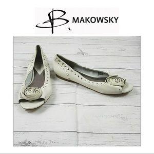 B Makowsky Flats Size 8M